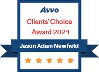 Avvo Award 2021 Newfield