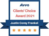 Avvo Award 2021 Frankel