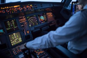 Commercial pilot with a visual disability cannot perform the material duties of their job