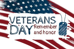 Veterans Day Remember and Honor